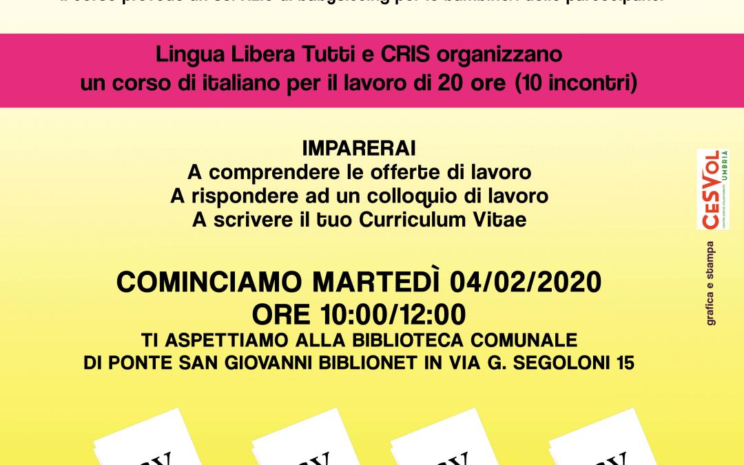 Italiano per il lavoro